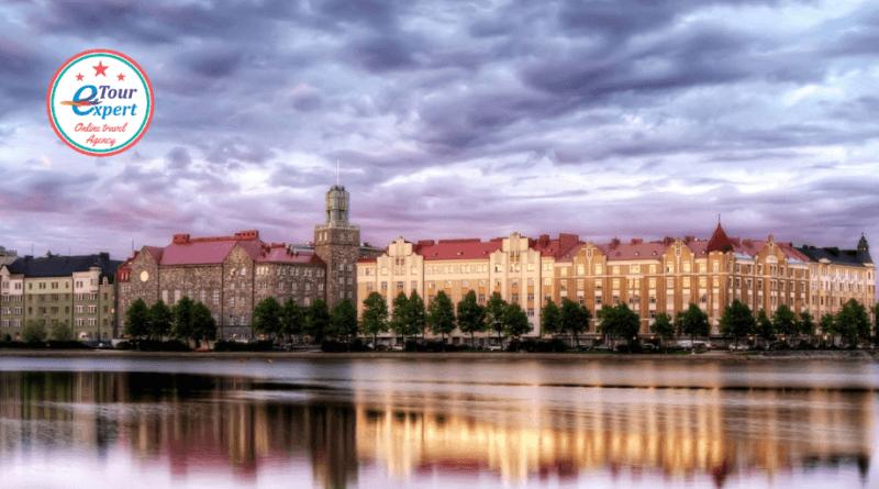 Хельсинки, балтийский пейзаж два шага к природе