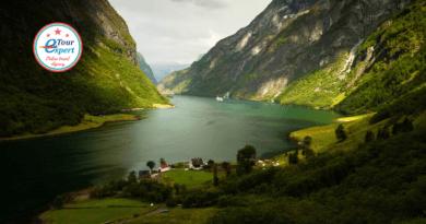 Норвегия – страна фьордов, территория викингов