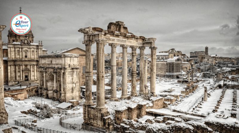 Зимний вояж: все дороги ведут в Рим