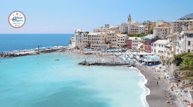 Генуя, Италия: бухта спокойствия