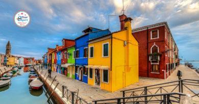 Буйство красок: остров Бурано