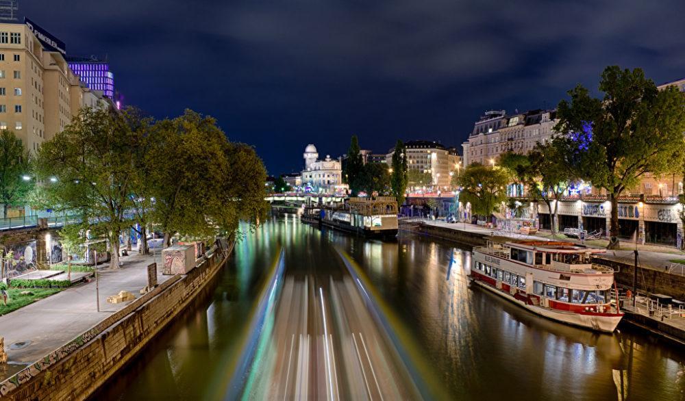 Вена - водная стихия