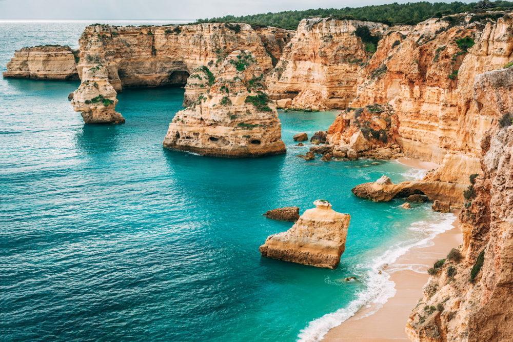 Алгарве – безмятежный Эдем на юге Португалии